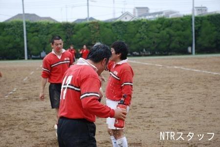 水かぶる24期眞田君