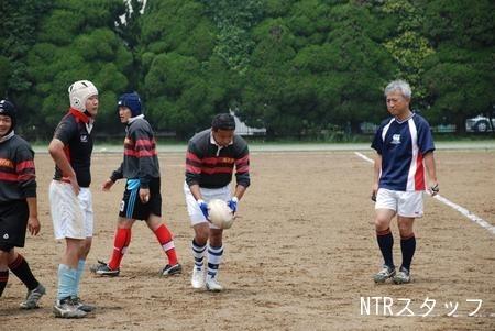 鳥居塚先生と佐野君(25期)