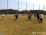 2012年度春合宿 高校生との合同練習